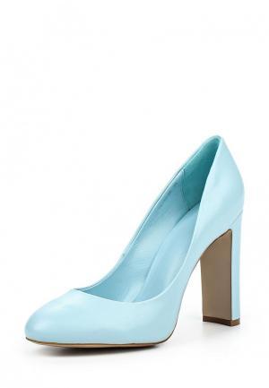 Туфли Calipso. Цвет: голубой