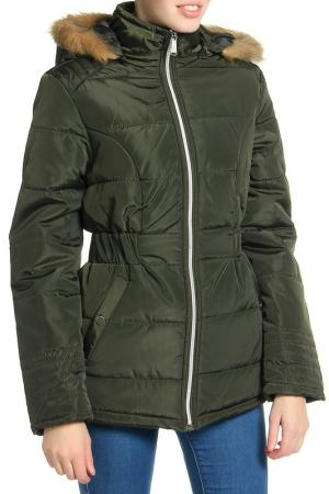 Куртка Harve Benard. Цвет: зеленый