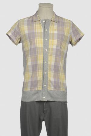Рубашка 2 PICCHE RECYCLED. Цвет: желтый