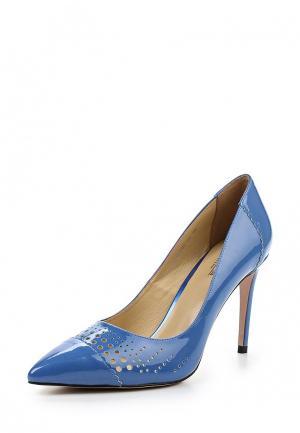 Туфли Laura Valorosa. Цвет: голубой