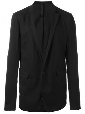 Пиджак с карманами клапанами Poème Bohémien. Цвет: чёрный