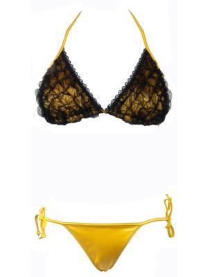Раздельный купальник триангл V.I.P.A. Цвет: желтый
