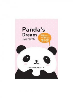 Патч для области вокруг глаз PANDAS DREAM,2*7мл Tony Moly. Цвет: черный