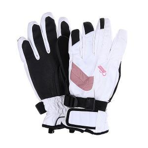 Перчатки сноубордические женские  Astra Glove Pink Pow. Цвет: серый,розовый