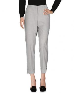 Повседневные брюки THOMAS RATH. Цвет: светло-серый