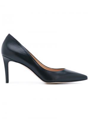 Классические туфли Antonio Barbato. Цвет: синий