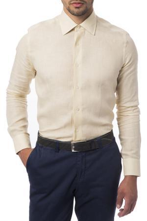 Рубашка Trussardi Collection. Цвет: light yellow