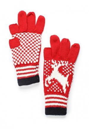 Перчатки Colins Colin's. Цвет: красный
