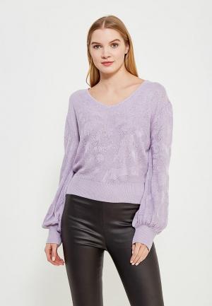 Пуловер LOST INK. Цвет: фиолетовый