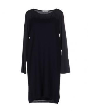 Короткое платье KANGRA CASHMERE. Цвет: темно-синий