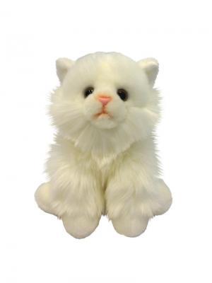 Мягкая Игрушка Котик Сидячий MAXITOYS. Цвет: белый