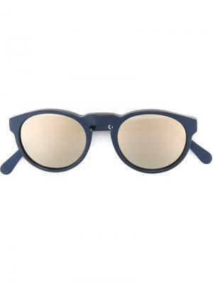 Солнцезащитные очки Retrosuperfuture. Цвет: синий