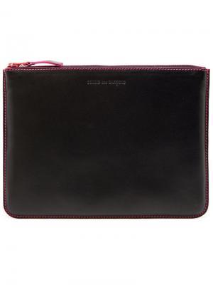 Кошелек на молнии 'Marvellous Comme Des Garçons Wallet. Цвет: розовый и фиолетовый