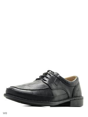 Туфли GUT. Цвет: черный