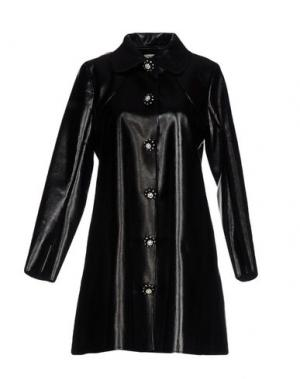 Пальто MANOUSH. Цвет: черный