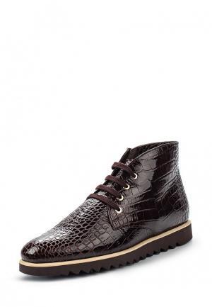 Ботинки Giotto. Цвет: коричневый