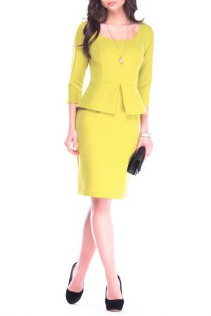 Платье Laura Bettini. Цвет: авокадо