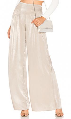 Широкие брюки matinee ELLIATT. Цвет: серо-коричневый