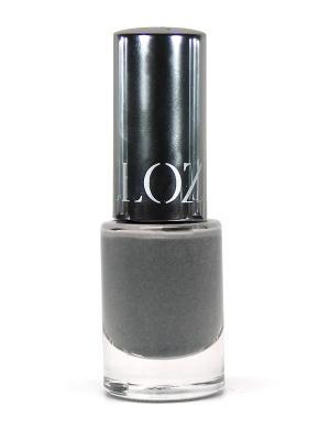 Лак для ногтей Glamour ИЛЛОЗУР. Цвет: серый