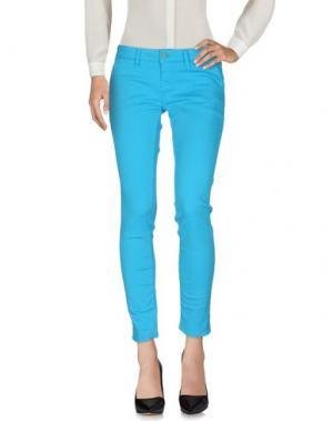 Повседневные брюки 2W2M. Цвет: бирюзовый