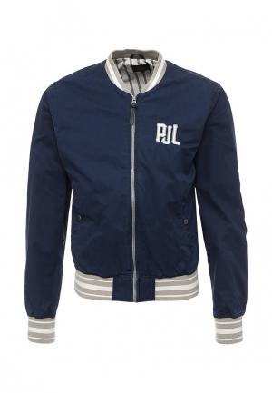 Куртка Pepe Jeans. Цвет: синий