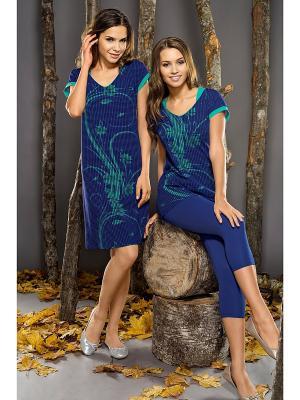 Пижама Vaide. Цвет: синий