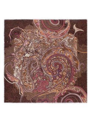 Платок Eleganzza. Цвет: коричневый, бежевый, лиловый