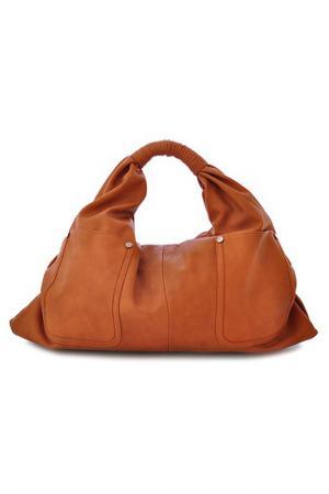 Сумка Vera bags. Цвет: camel