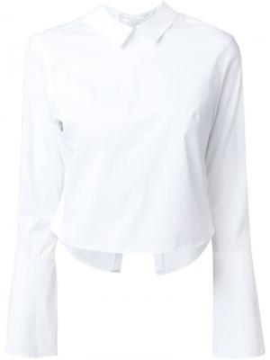 Рубашка Claire Misha Nonoo. Цвет: белый