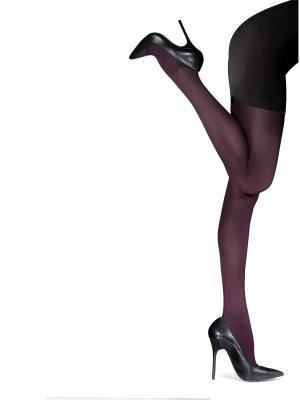 Колготки женские Knittex Mireille. Цвет: сливовый