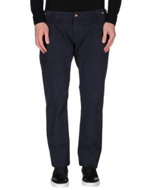 Повседневные брюки TRUE NYC.. Цвет: темно-синий
