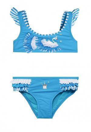 Купальник Arina. Цвет: голубой