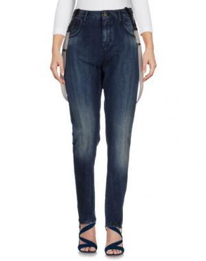 Джинсовые брюки MANILA GRACE DENIM. Цвет: синий