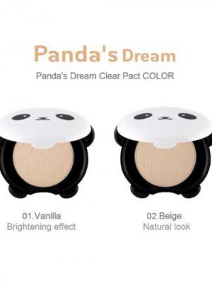 Компактная пудра для лица PANDAS DREAM, №1, 10г Tony Moly. Цвет: светло-бежевый