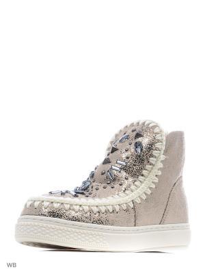 Ботинки Nadasa. Цвет: золотистый