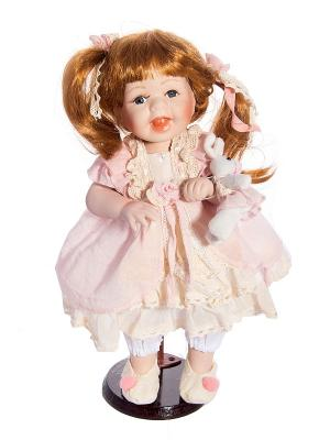 Кукла коллекционная Дарина Русские подарки. Цвет: белый, черный, бежевый, золотистый