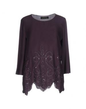 Блузка KRISTINA TI. Цвет: темно-фиолетовый