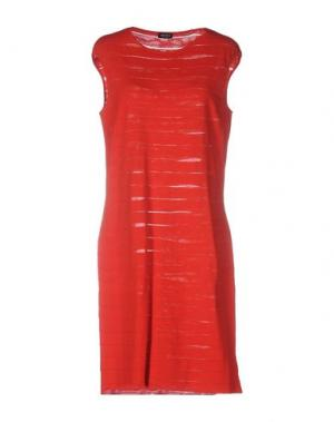 Короткое платье NEERA. Цвет: красный