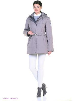 Куртка IRINA Maritta. Цвет: серебристый, сиреневый