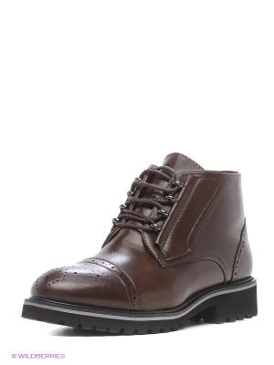 Ботинки Aotoria. Цвет: коричневый
