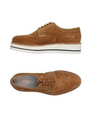 Обувь на шнурках TRIVER FLIGHT. Цвет: верблюжий