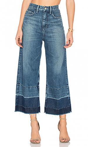 Широкие джинсы may Siwy. Цвет: none