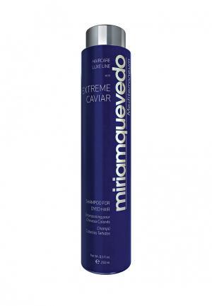Шампунь для окрашенных волос Miriam Quevedo. Цвет: синий
