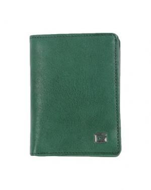 Бумажник GIUDI. Цвет: зеленый