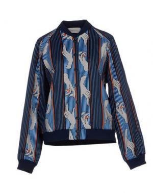 Куртка EMMA COOK. Цвет: темно-синий