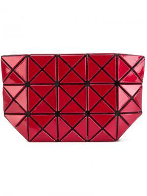 Кошелек с геометрическими заклепками Bao Issey Miyake. Цвет: красный