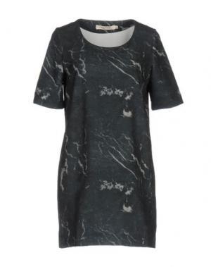 Короткое платье NICE THINGS by PALOMA S.. Цвет: стальной серый