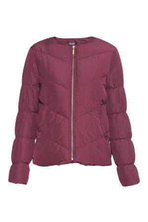 Стеганая куртка PZ-176543 Sense. Цвет: красный