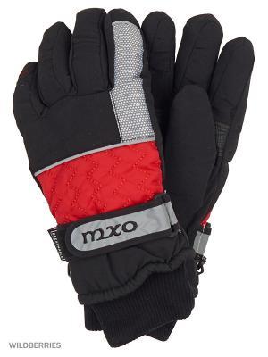 Перчатки MAXIMO. Цвет: красный, черный