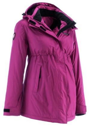 Функциональная куртка для беременных (темно-коричневый) bonprix. Цвет: темно-коричневый